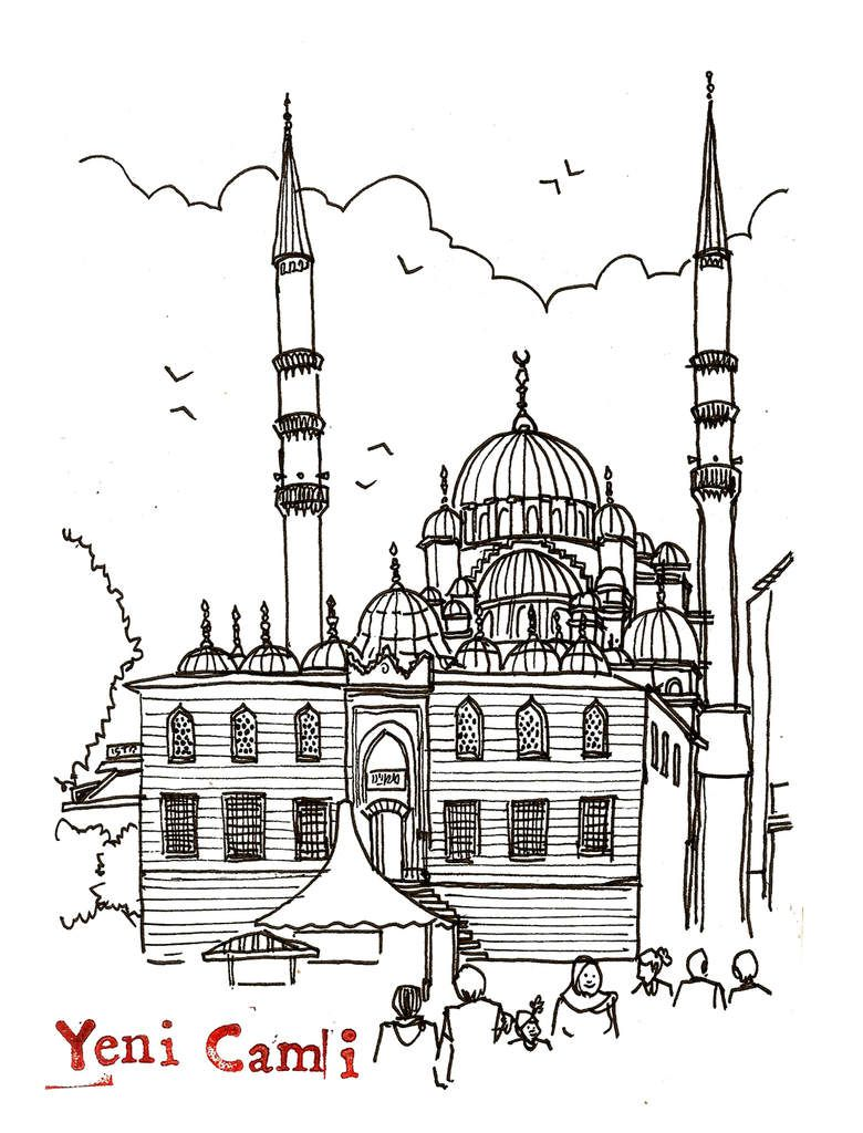 croquis d'Istanbul // emdé // 10.2015