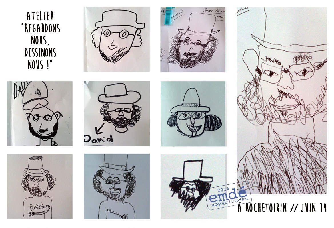 Les concerts vagabonds, Rochetoirin // ateliers  // emdé, 2014