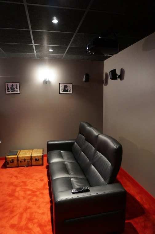 Un cinéma dans une chambre