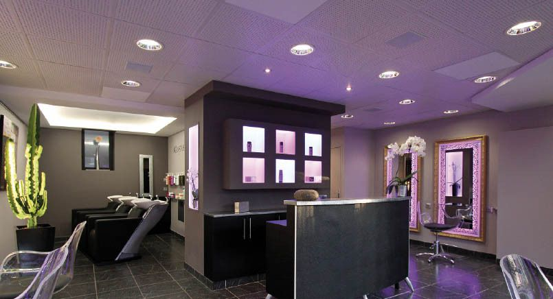 Le salon de coiffure high tech ! - Installations Audiovisuelles et ...