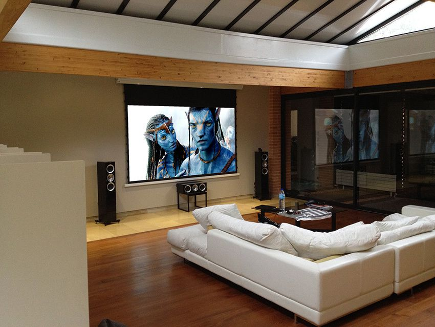 Un home cin ma pour audiophile installations - Salon hifi home cinema ...