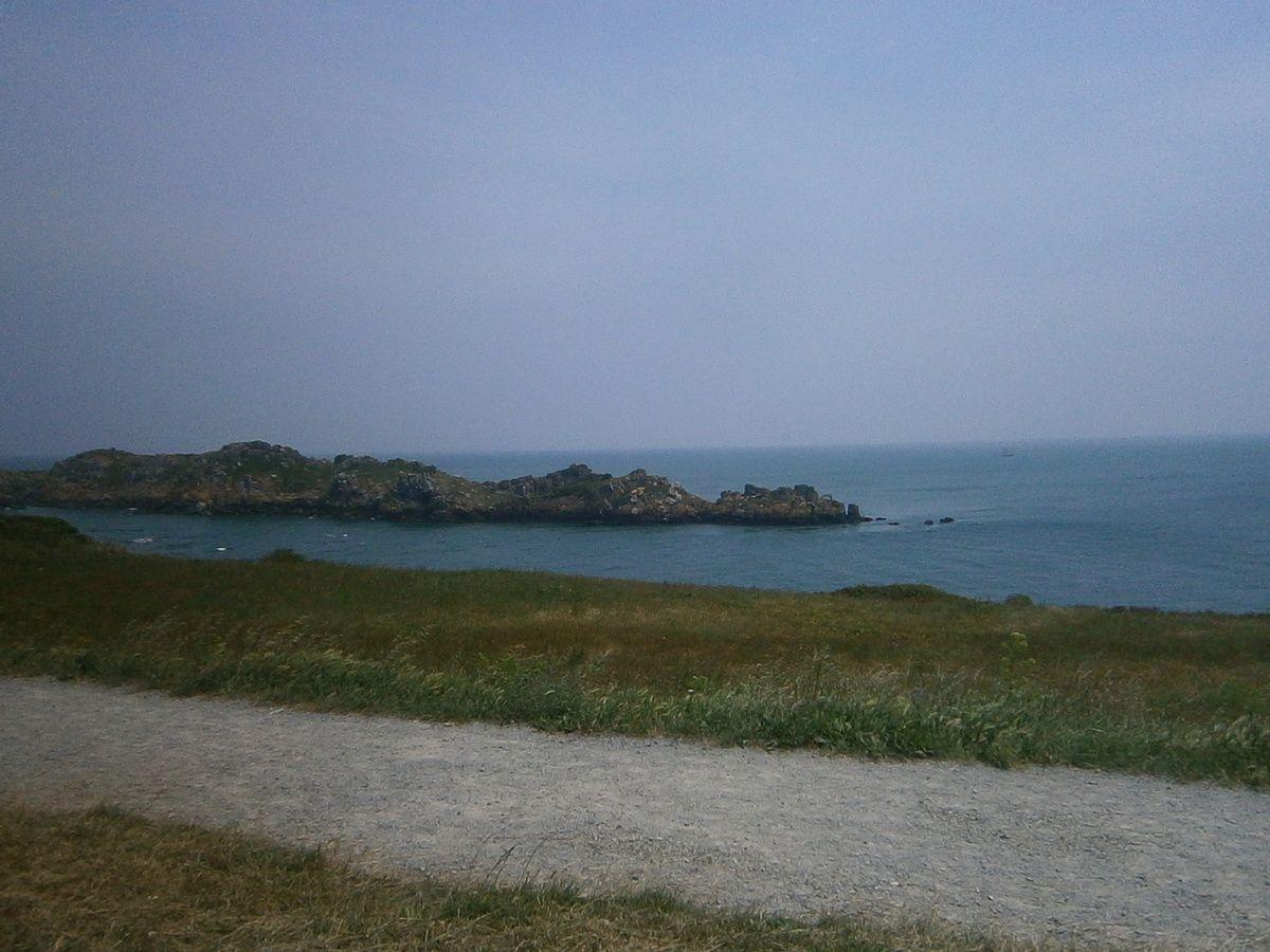 """Du haut du """" Fort """" à St Malo et la """" Pointe du Groin """""""