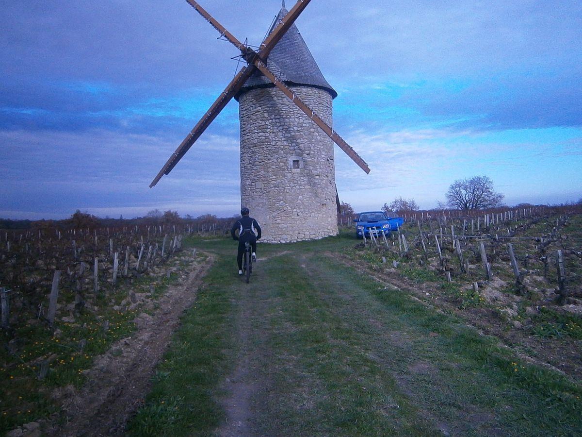 Depuis le moulin , le diaporama est magnifique .