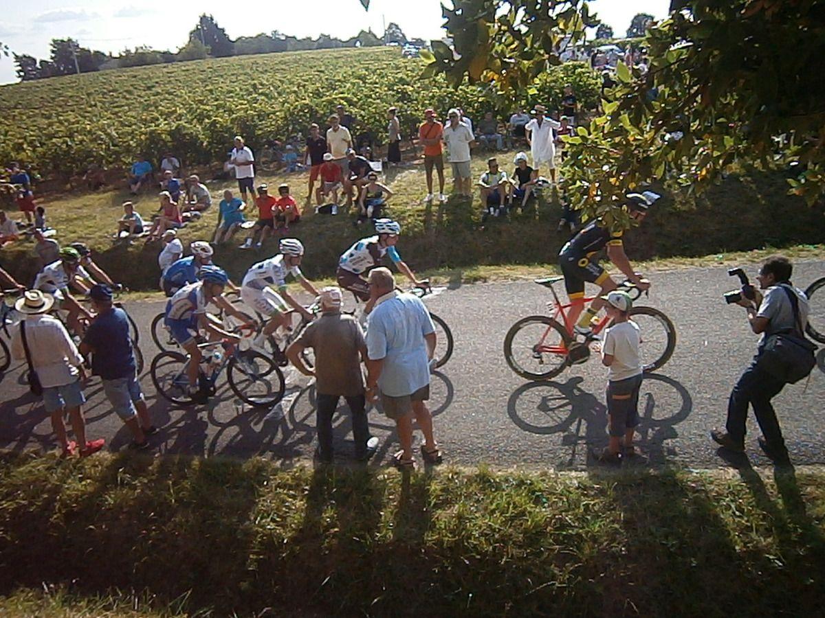 Une chouette rando suivi du 8° critérium de Castillon La Bataille