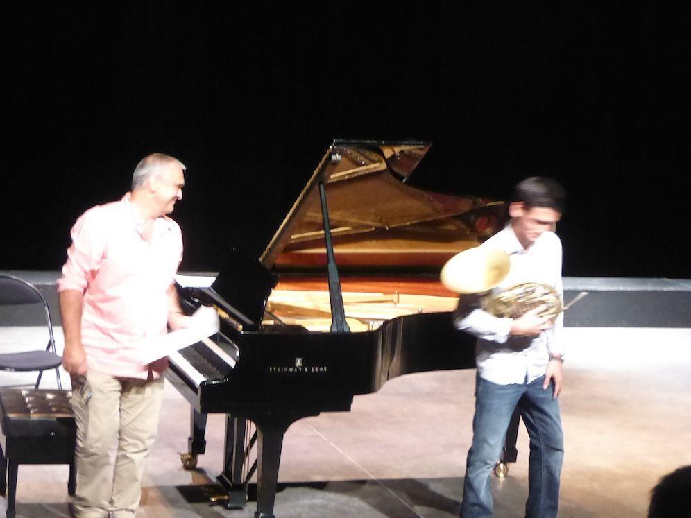 Concert du Conservatoire à Rayonnement Régional.