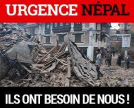 LE SECOURS CATHOLIQUE LANCE UN APPEL POUR LE NEPAL