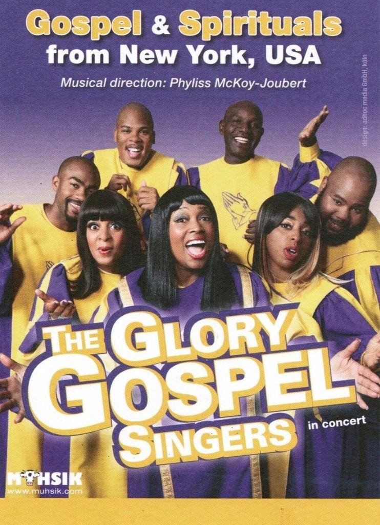 THE GLORY GOSPEL SINGERS EN CONCERT A LA MADELEINE