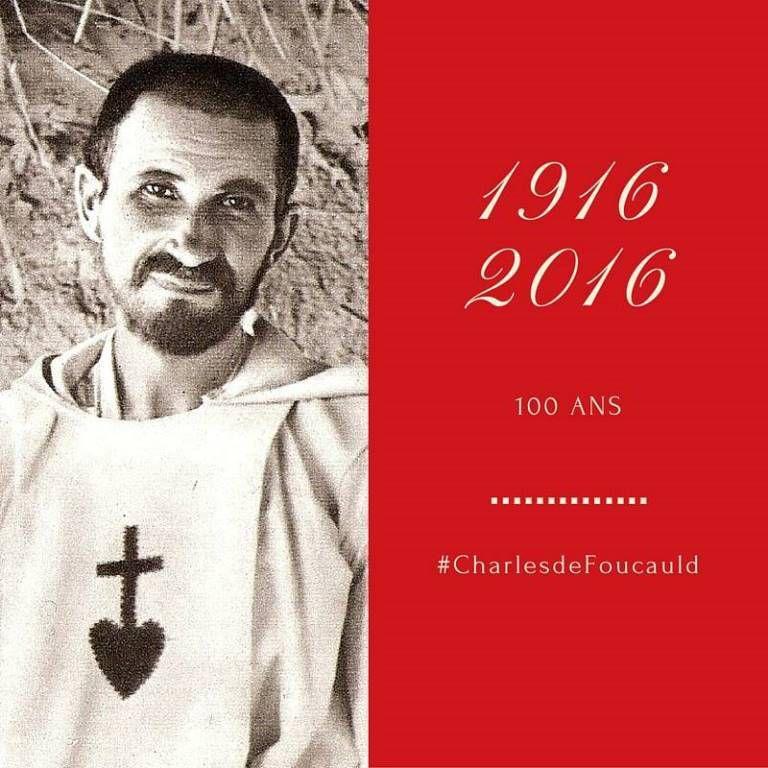 Le premier décembre 2016, il y a cent ans que le père Charles de Foucauld disparaissait quelque part dans le Sahara.