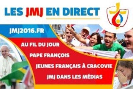 MESSE D'OUVERTURE DES JMJ MARDI ICI