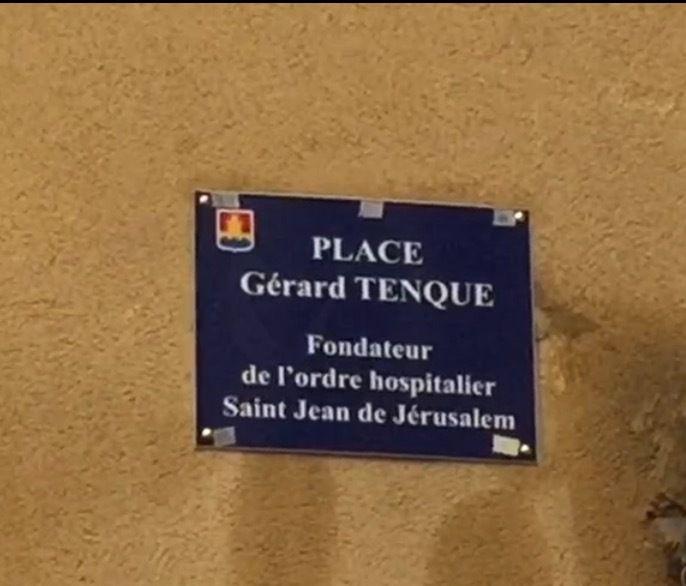 Conférence, déambulation et pose d'une nouvelle plaque sur la place Gérard Tenque