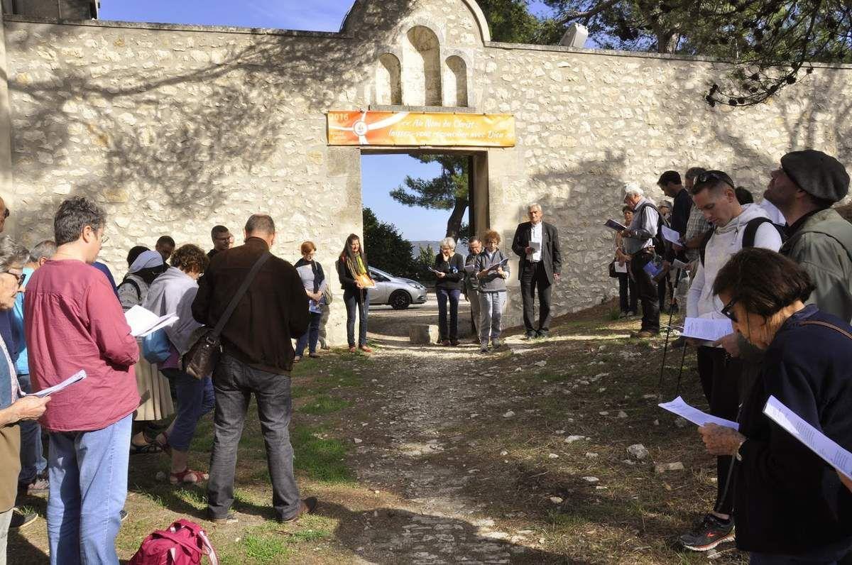 Retour en images sur le pèlerinage de Mgr Dufour avec le doyenné d'Istres-Martigues