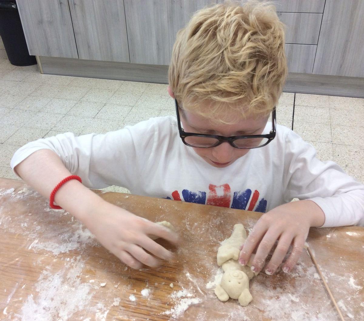 Atelier pâte à sel.