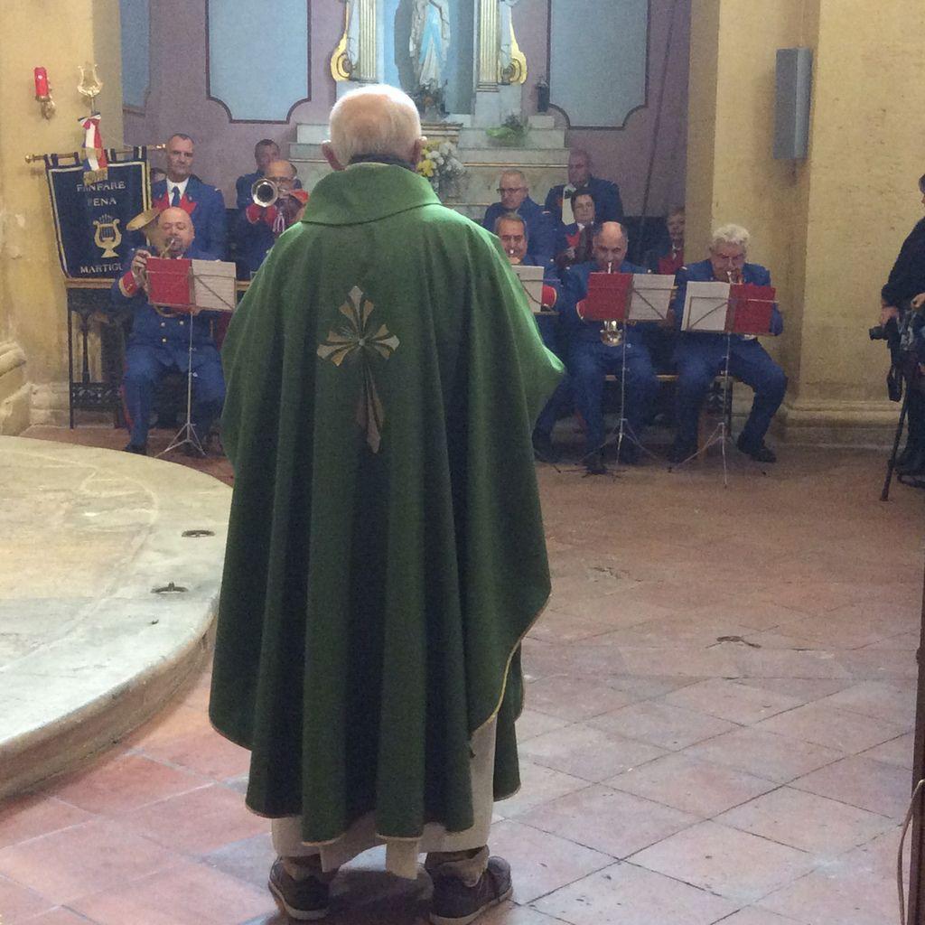 A l'église Saint Louis d'Anjou dimanche