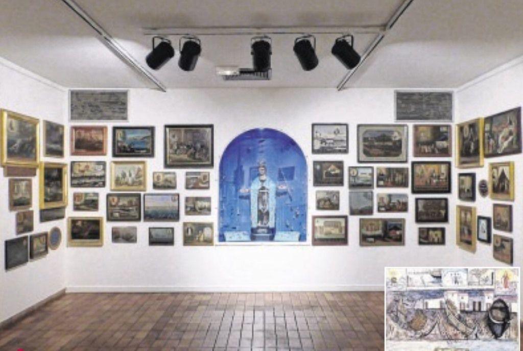 Les ex-voto de Notre Dame de Miséricorde sont visibles au Musée Ziem.