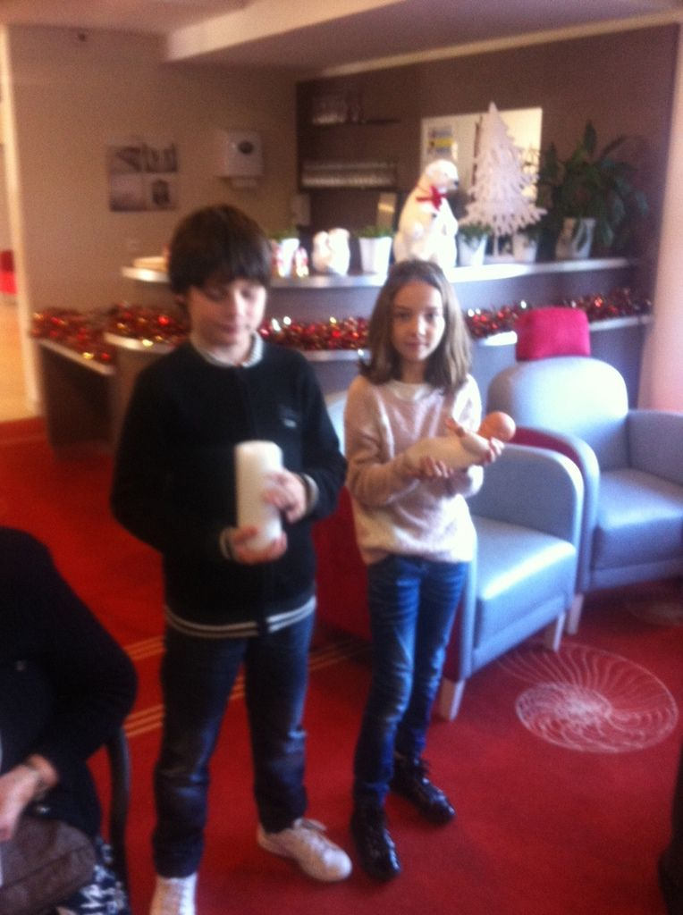 Messe de Noël à la Maisonnée avec les enfants du catéchisme