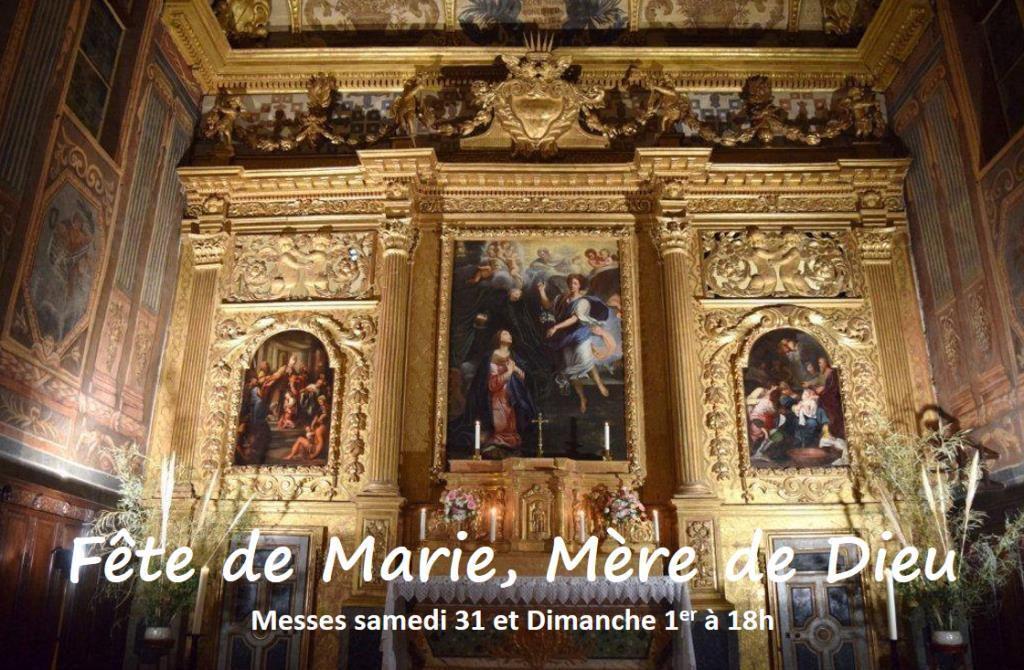 Solennité de Marie, Mère de Dieu