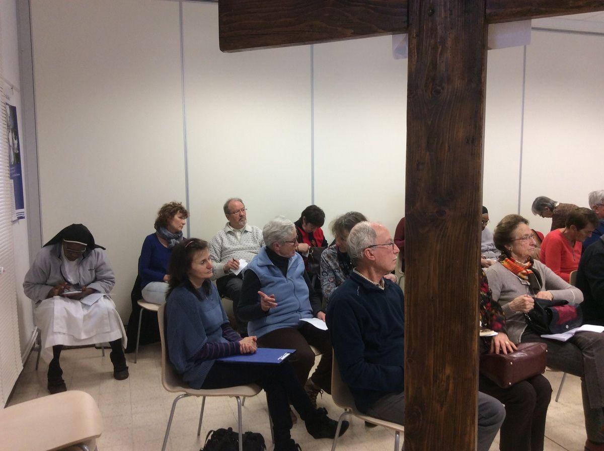 Les bénévoles se sont retrouvés pour continuer les échanges, avancer ensemble dans les services paroissiaux.