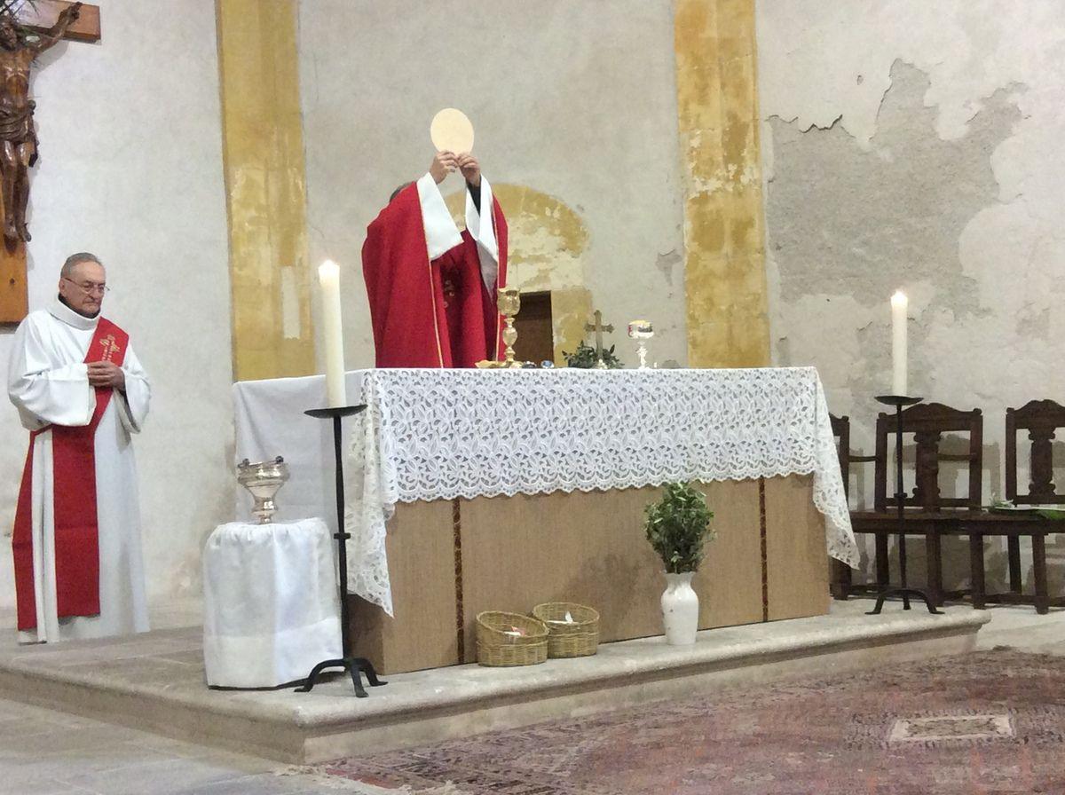 Les églises de Martigues étaient bondées pour fêter l'entrée de Jésus à Jérusalem. 5 messes sur la ville !