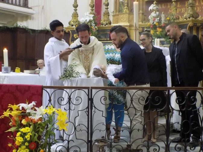 Victoria à été baptisée par le Père Thierry-Joseph Beguin à l'église de La Madeleine.