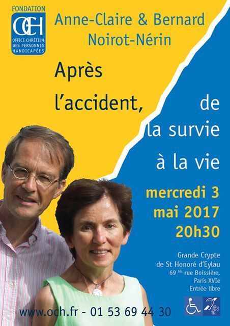 APRES L'ACCIDENT, DE LA SURVIE A LA VIE : UNE CONFERENCE EN DIRECT