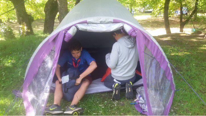 """Les plus grands des mousses ont passé le week-end à Mélan (04) : """"Scout et guide, artisan de paix"""""""