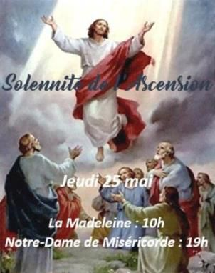 SOLENNITE DE L'ASCENSION A MARTIGUES