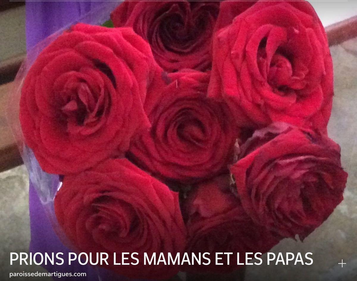 PRIONS POUR LES MAMANS ET LES PAPAS
