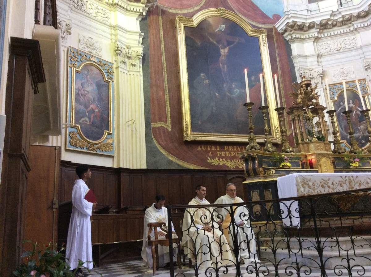 LE RETOUR DE CATHERINE D'ALEXANDRIE DANS LA PROVENCE