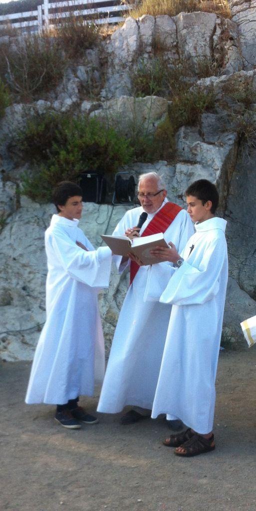 Fête des saints Pierre et Paul sur le territoire de Saint Pierre-les-Martigues, plage des Laurons.