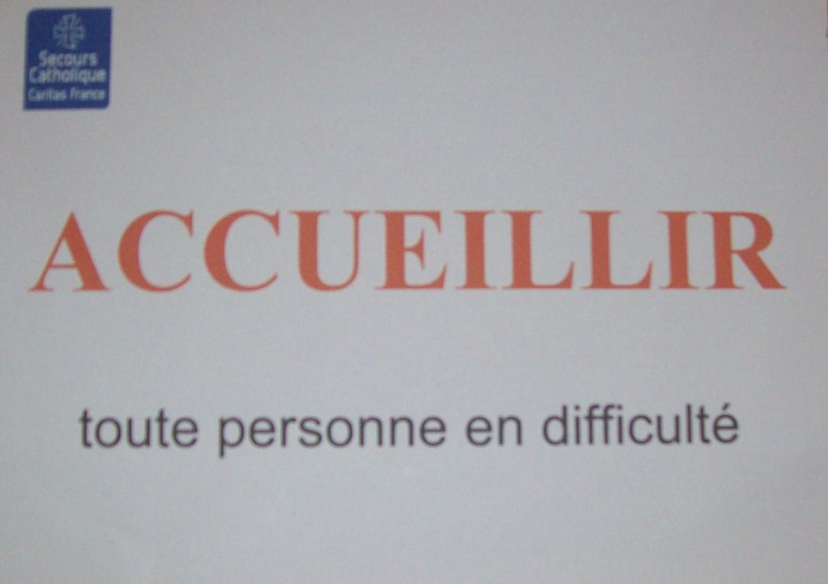 LE SECOURS CATHOLIQUE EST AU FORUM DES ASSOCIATIONS