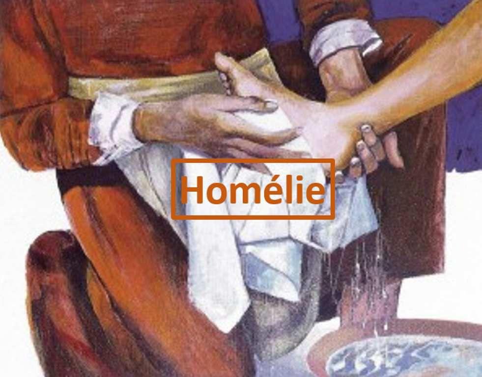 Homélie de Pierre Laurent pour le trente et unième dimanche du Temps ordinaire