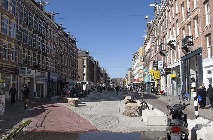 chamboulements à Amsterdam