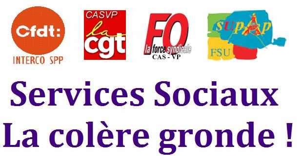 Assemblée générale CFDT - CGT - FO - SUPAP FSU le 13 octobre à midi