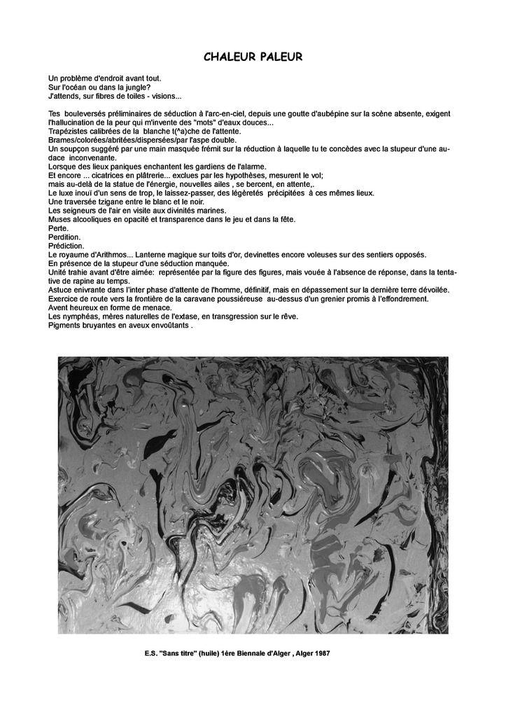 ERMANNO SENATORE LIVRE D'ART