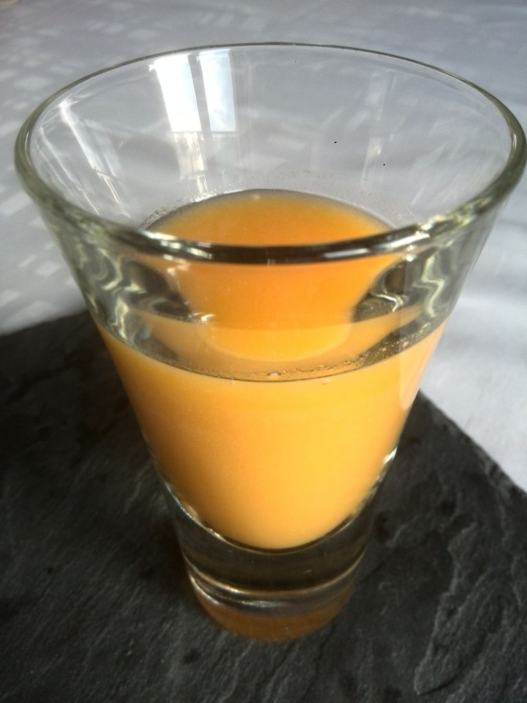 Cocktail rhum coco et mangue