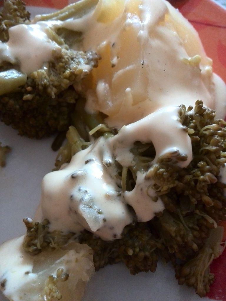 sauce moutarde rapide pour accompagner des brocolis