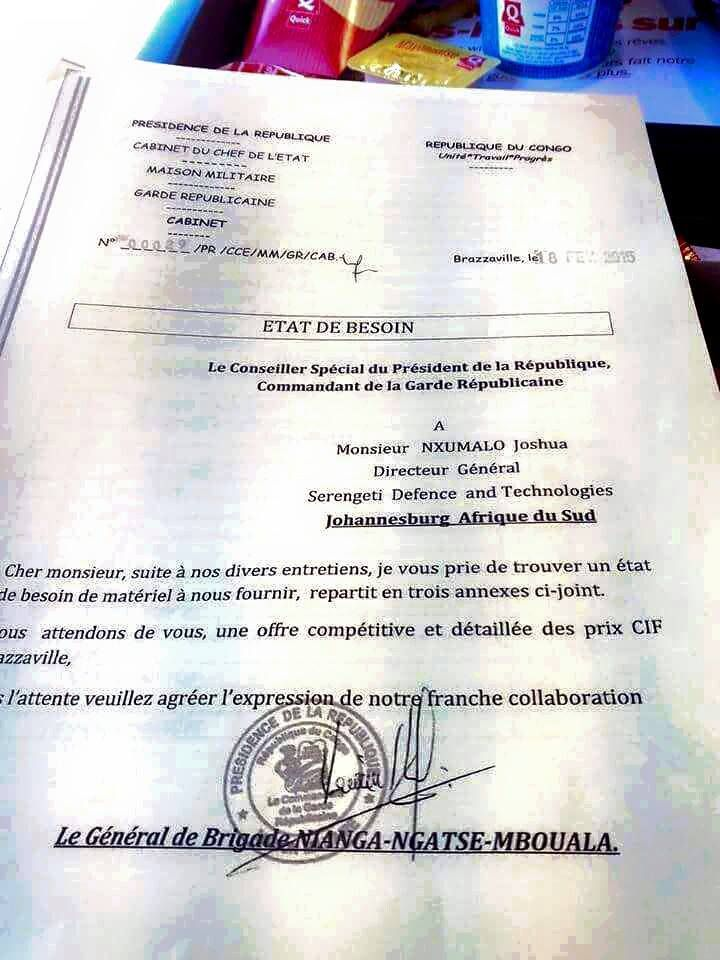 DOCUMENTS : SASSOU VEUT ASSASSINER SA CONSTITUTION, NIANGA MBOUALA VEUT LIQUIDER TOUTE REVOLTE