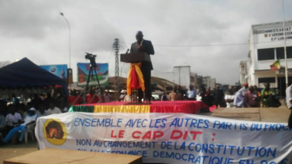 LES PREMIERES IMAGES ET VIDEOS DU MEETING DU 3 MAI 2015 A POINTE-NOIRE
