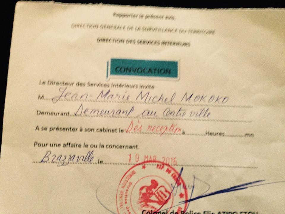 SCRUTIN DU 20 MARS 2016 : LE CONGO RISQUE D'ETRE COUPE DU MONDE