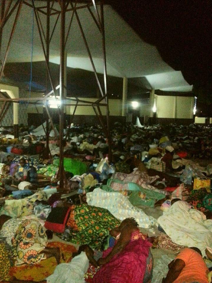Les populations des quartiers sud de Brazzaville, terrassées, désespérées, des sans-abris dans les quartiers nord de Brazzaville