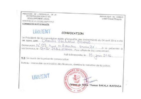 LE PROFESSEUR ZACHARIE BOWAO NE DOIT PAS REPONDRE A UNE CONVOCATION INJUSTIFIEE