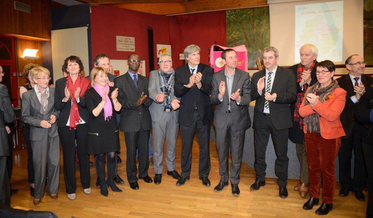 Retour en images sur le meeting de lancement de la campagne départementale du 19 février 2015
