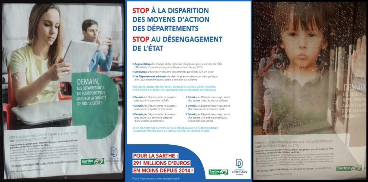 """Illustration de la """"campagne"""" du Département"""