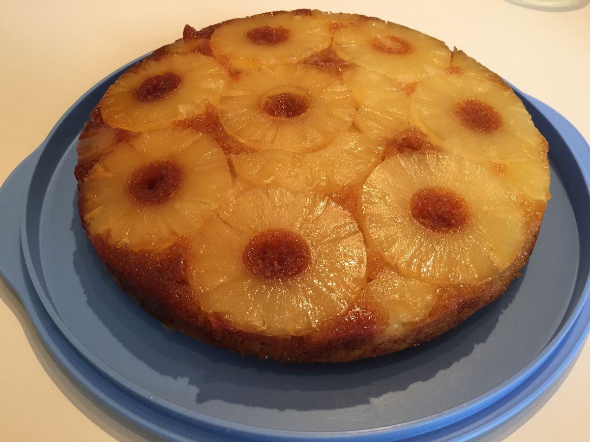 Gateau ananas sans rhum