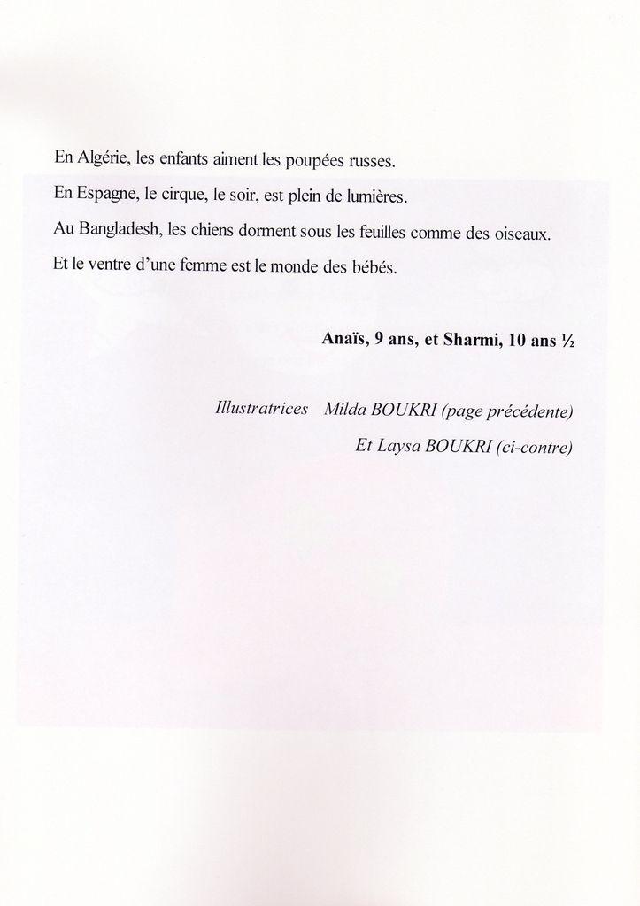 Livre &quot&#x3B;CIRQUE ET DIFFERENCES&quot&#x3B; 2012