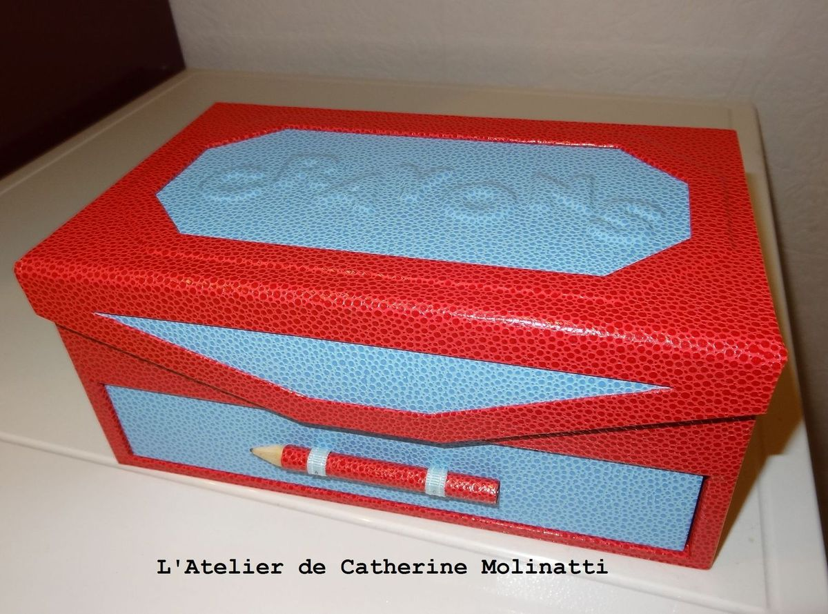 Cartonnage A Continue Le Blog De Catherine