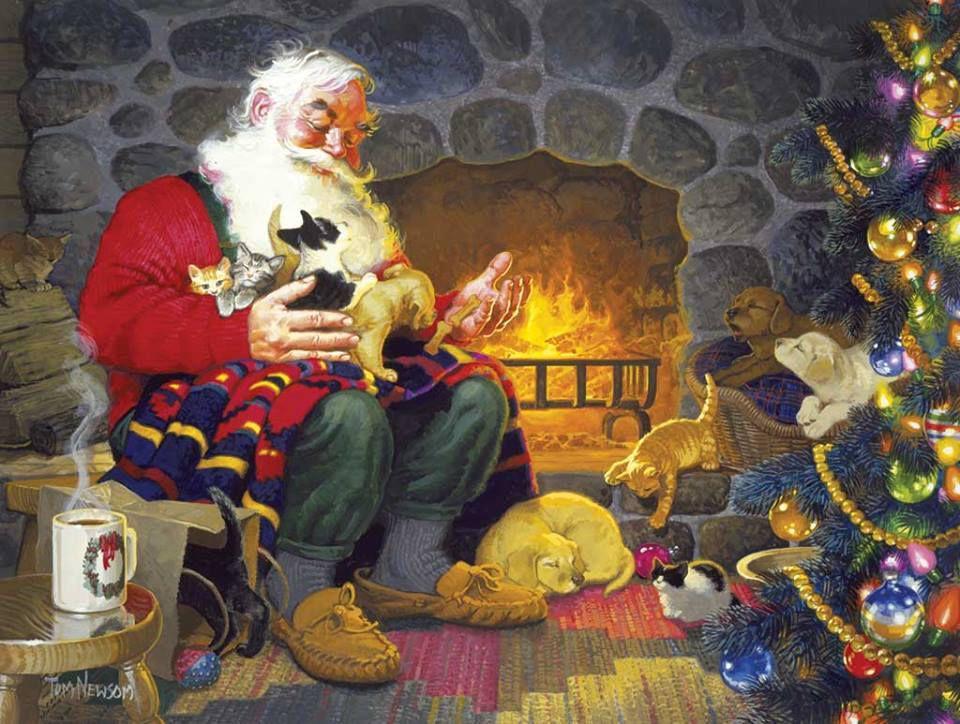 La magie de Noël - clin d'oeil pour Emma.