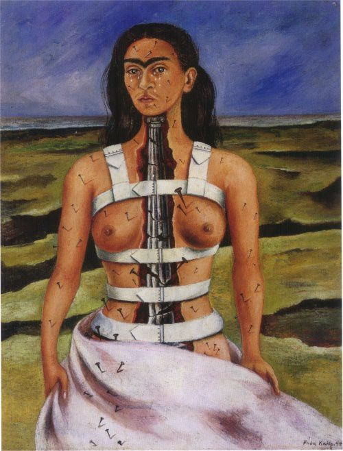 Frida Kahlo - Broken Column
