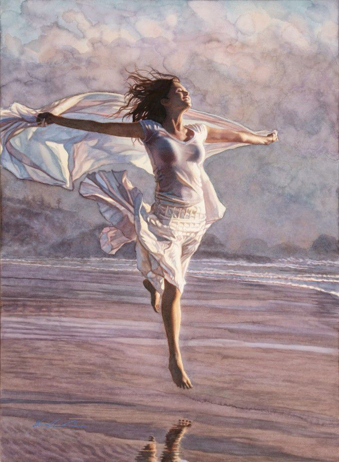 Illustration Steve Hanks Aquarelle