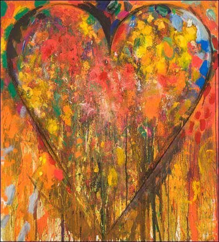 Illustration : peinture de Jim Dine
